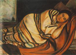 Napping_woman